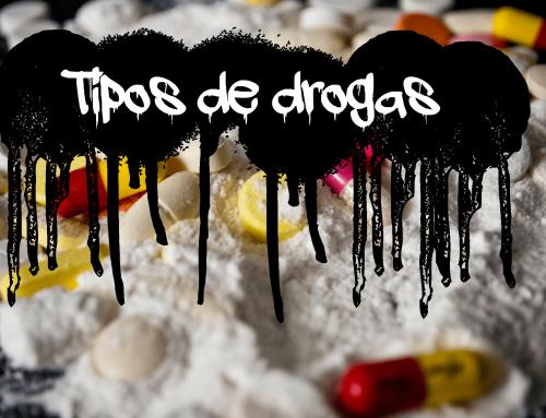¿Qué tipos de drogas existen? Sorpréndete